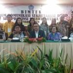 Dipimpin Sekwan Joins Langkun, Sejumlah Staf Sekertariat DPRD Minsel Ikut Bimtek