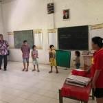 Wabup FDW Tinjau Kondisi SD di Dusun Jauh Pelita