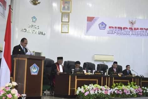 30 Anggota DPRD Kota Bitung Masa Jabatan 2019-2024 Dilantik3