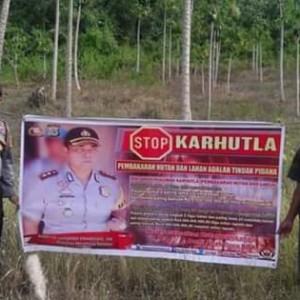 Cegah Karhutla, Polres Minsel Laksanakan Patroli