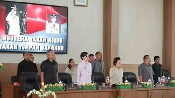 DPRD Minsel Laksanakan Rapat Paripurna Tingkat Satu Ranperda APBD-P 20193