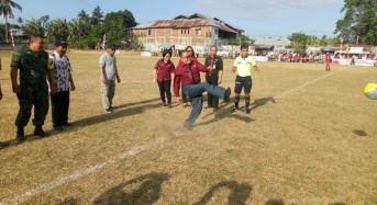 Dibuka Asisten Dua, Minahasa Tenggara Tuan Rumah Liga Sepak Bola Berjenjang U-19
