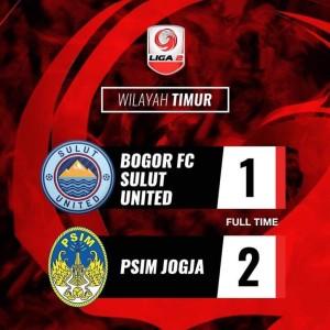 Sulut United vs PSIM Yogyakarta