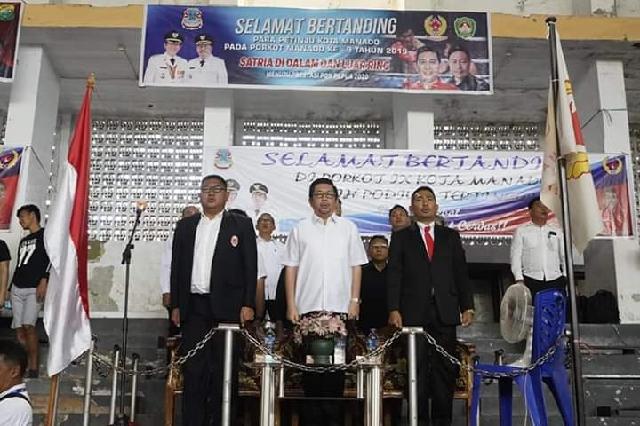 Wawali Mor Buka Porkot Manado ke-IX Tahun 2019