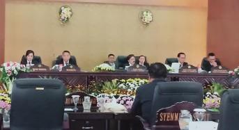 Eksekutif-Legislatif Tomohon Dengarkan Pidato Kenegaraan Presiden RI