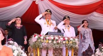 Olly Irup HUT RI ke-74 Tingkat Provinsi Sulut