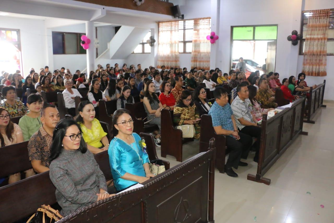 Ibadah Syukur HUT ke-169 Jemaat GMIM Damai Sejahtera Lahendong
