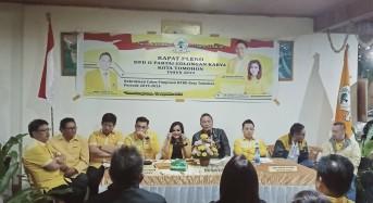 Empat Calon Berebut Ketua Definitif, Christo Eman Ketua DPRD Tomohon Sementara
