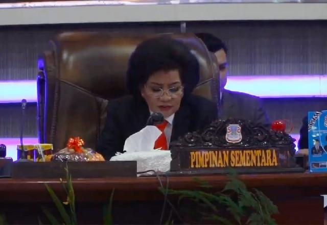 Aaltje Ketua DPRD Kota Manado Sementara, Nortje Wakil