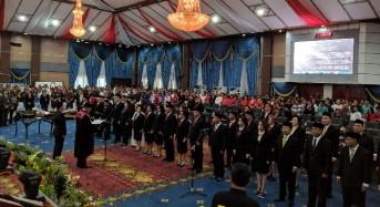 SAH, 40 Anggota DPRD Kota Manado Periode 2019-2024 Resmi Dilantik