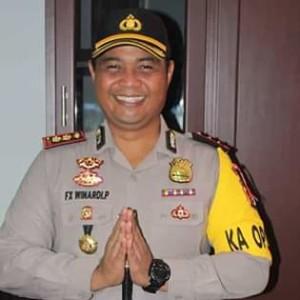 Kapolres Minsel AKBP FX Winardi Prabowo SIK