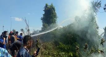 Kebakaran Hutan dan Lahan Kembali Terjadi di Wilayah Kota Manado