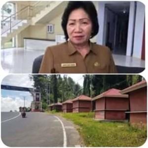 Kios Kuliner Objek Wisata di Gunung Potong Dibuka