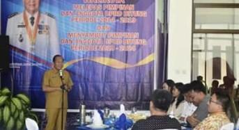 Lomban Sambut Legislator Bitung Periode 2019 – 2024