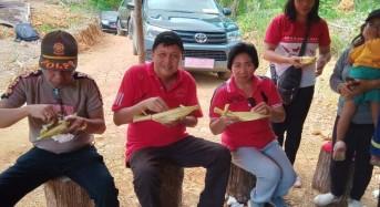 Makan di Daun Woka, Minum di Bambu, Wabud Legi: Tradisi Mitra Ini Harus Dilestarikan