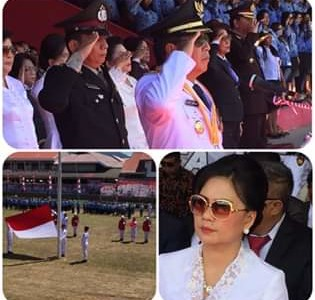 Irup HUT RI ke-74, Bupati JS: SDM Minahasa Tenggara Unggul Menuju Indonesia Emas