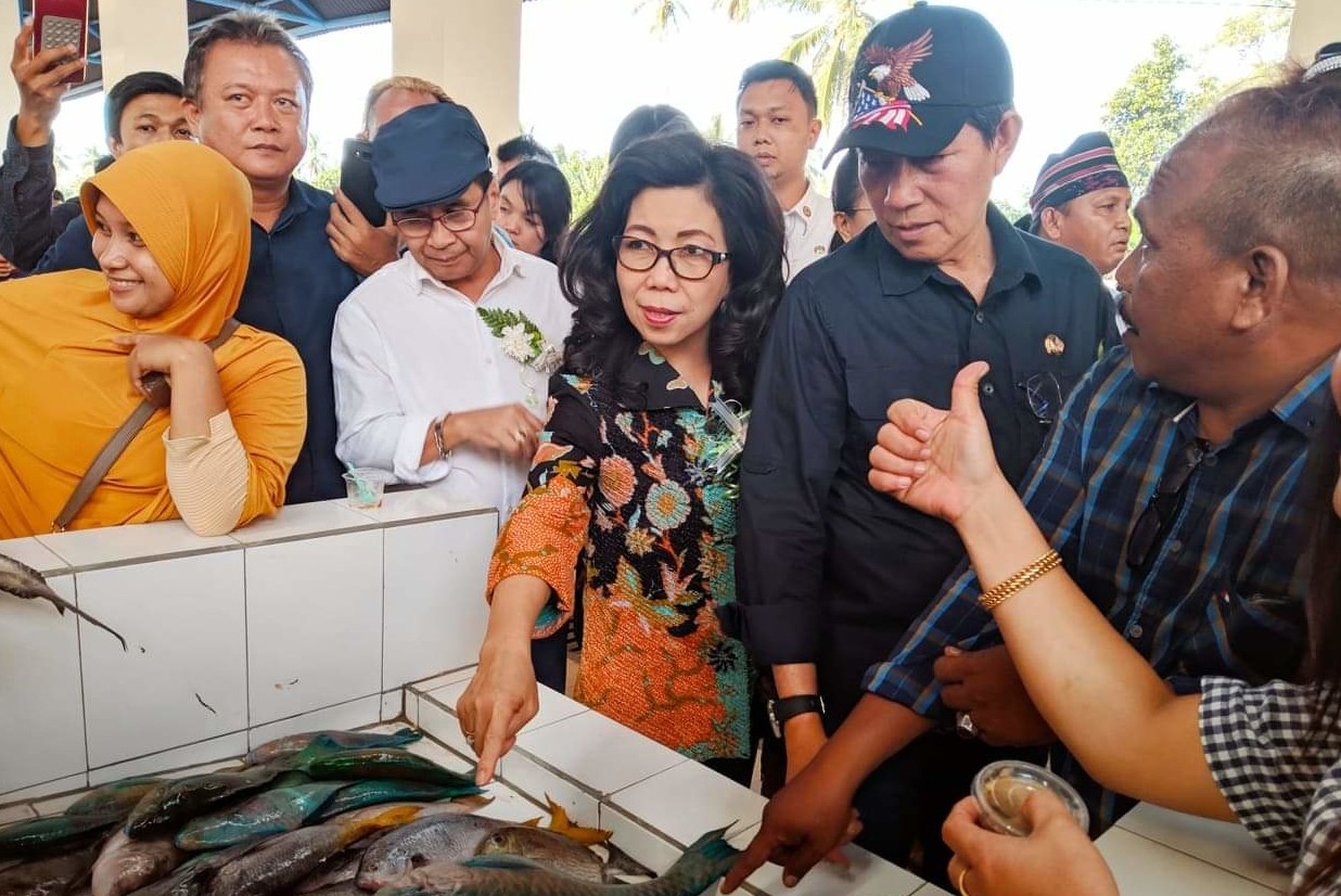 Pemkot Manado Naikkan Level Pasar Tradisional