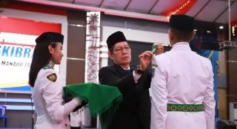 Wali Kota GSVL Kukuhkan 59 Anggota Paskibra Kota Manado