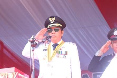 Semarak HUT RI ke-74, Bupati James Sumendap: SDM Mitra Unggul Indonesia Maju