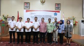 KPK Gelar Koordinasi dan Verifikasi Aksi Cegah Korupsi di Sulut