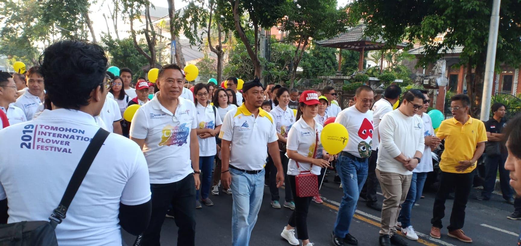 Fun Walk dan Road Show TIFF 2019 di Denpasar Bali