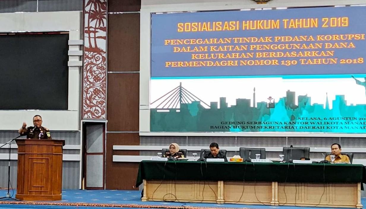 Ditawarkan Pendampingan TP4D Untuk Dana Kelurahan, Ini Keuntungannya Bagi Pemkot Manado