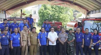 Kecamatan Paal Dua Miliki Pos Bantu Pemadam Kebakaran