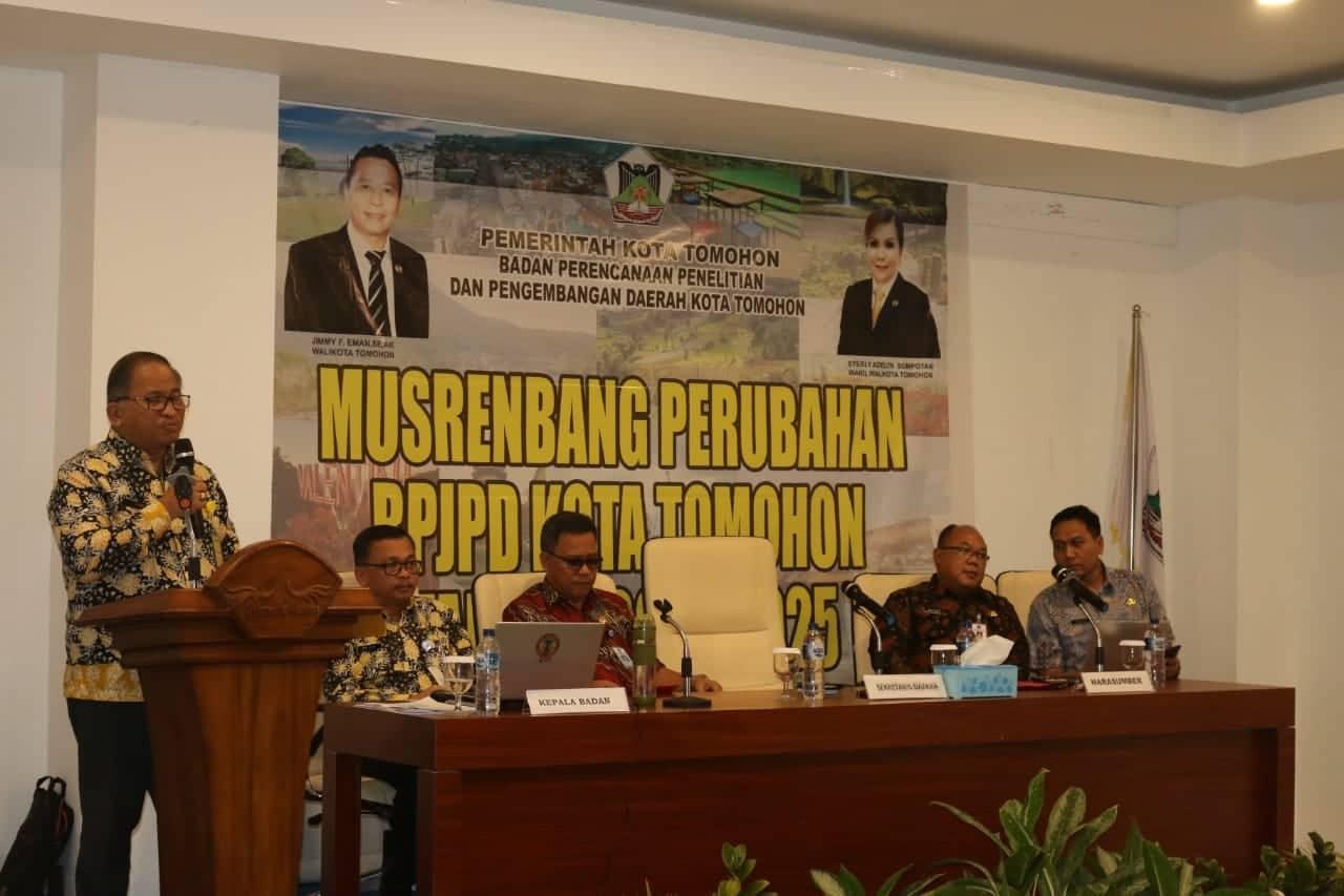 Sekretaris Kota mewakili wali kota membuka Musrenbang Perubahan RPJPD