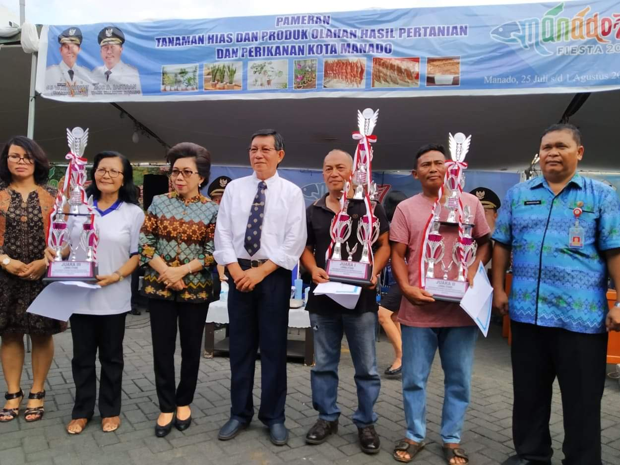 GSVL Minta Dinas PKP Rangkul Seluruh Kelompok Tani dan Usaha di Kota Manado