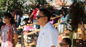 Capaian Kota Tomohon Ditampilkan di Pawai Pembangunan