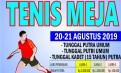 PTMSI Kota Manado Siap Gelar Porkot Cabang Tenis Meja