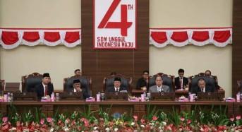 OD-SK Hadiri Rapat Paripurna Mendengarkan Pidato Presiden Jokowi