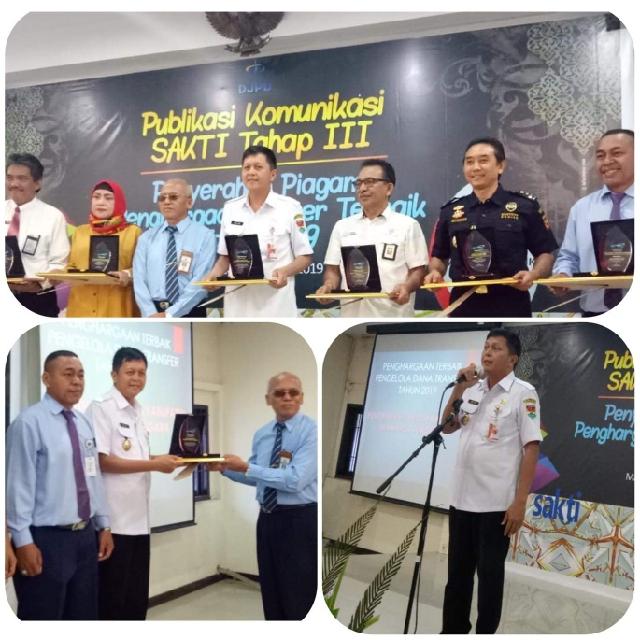 Luar Biasa, Kabupaten Mitra Dianugerahi Penghargaan Pengelola Dana Transfer Terbaik 2019