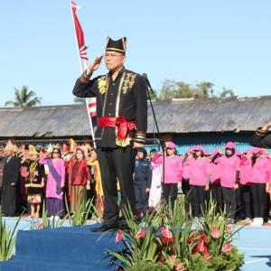Wali Kota Tomohon Irup pada  Upacara Pemberian Remisi di LPKA Tomohon