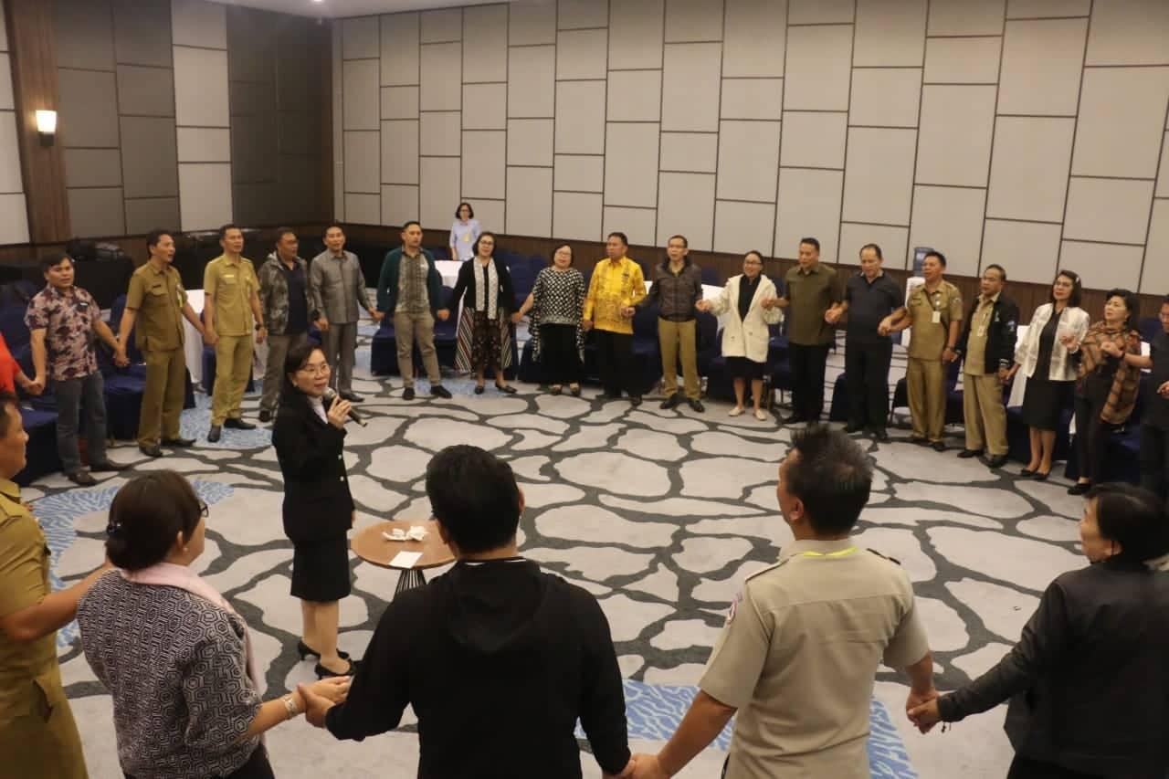 Retreat Pemerintah Kota Tomohon menyongsong TIFF
