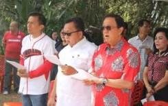 ROR-RD Hadiri Peletakan Batu Pertama Pembangunan Pastori 2 GMIM Moria Sasaran