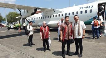 Garuda Buka Penerbangan Manado – Davao, Wagub Kandouw: Semoga Banyak Beri Manfaat Untuk Sulut