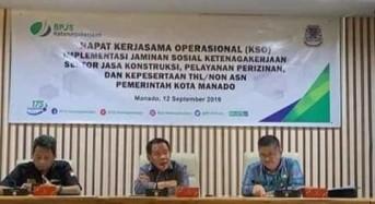 3.600 THL Pemkot Manado Bakal Diikutsertakan BPJS Ketenagakerjaan