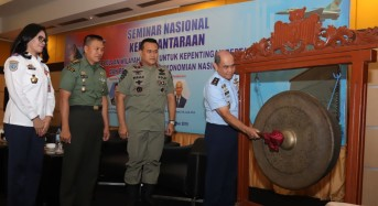 Pelangi Nusantara Manado 2019, Aspotdirga Kasau Buka Seminar Kedirgantaraan