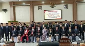 30 Anggota DPRD Minsel Sepakat Laksanakan Pakta Integritas