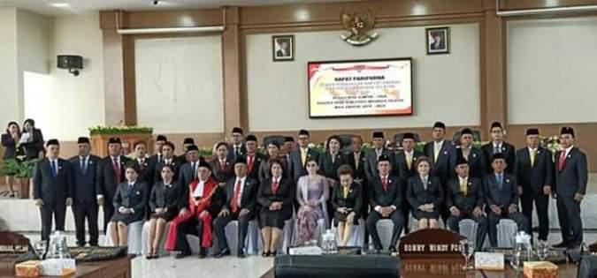 Anggota DPRD Minsel periode 2019-2024