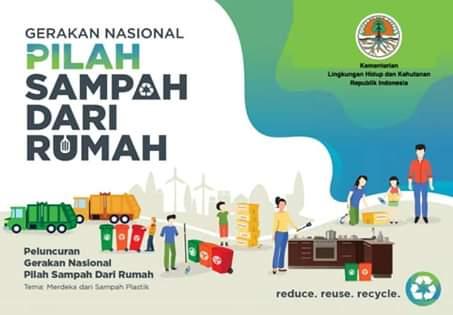 Bitung Lokasi Launching Gerakan Nasional Pilah Sampah Dari Rumah