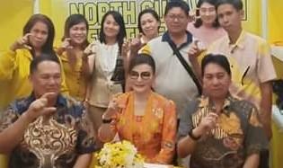 Trio Eksekutif Pemkab Minsel Hadiri Penutupan Sulut Expo 2019