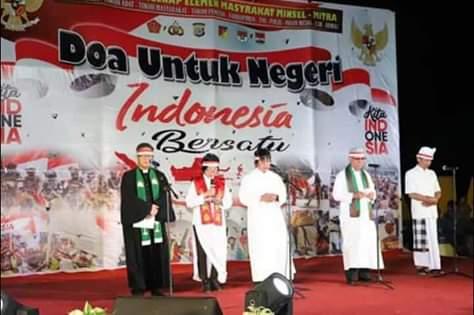 Doa Untuk Indonesia Dari Amurang Minsel Sukses