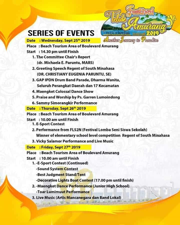 Festival Teluk Amurang