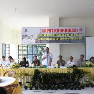 Rapat Koordinasi Pengendalian Karhutlah