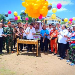 Wali Kota Canangkan Pesta Kolintang Tomohon