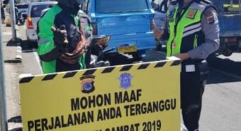 Hingga Hari Ketujuh, Operasi Patuh Polres Tomohon Jaring 500 Pelanggar