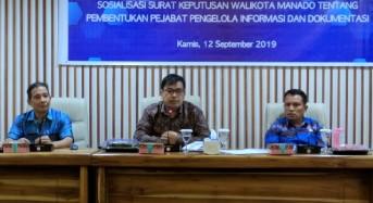 Konsen Keterbukaan Informasi Publik, KIP Sulut Apresiasi Wali Kota GSVL