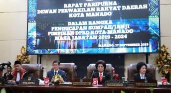Kawal Kepentingan Rakyat, GSVL Harap Pimpinan DPRD Manado Tingkatkan Sinergitas Dengan Pemkot
